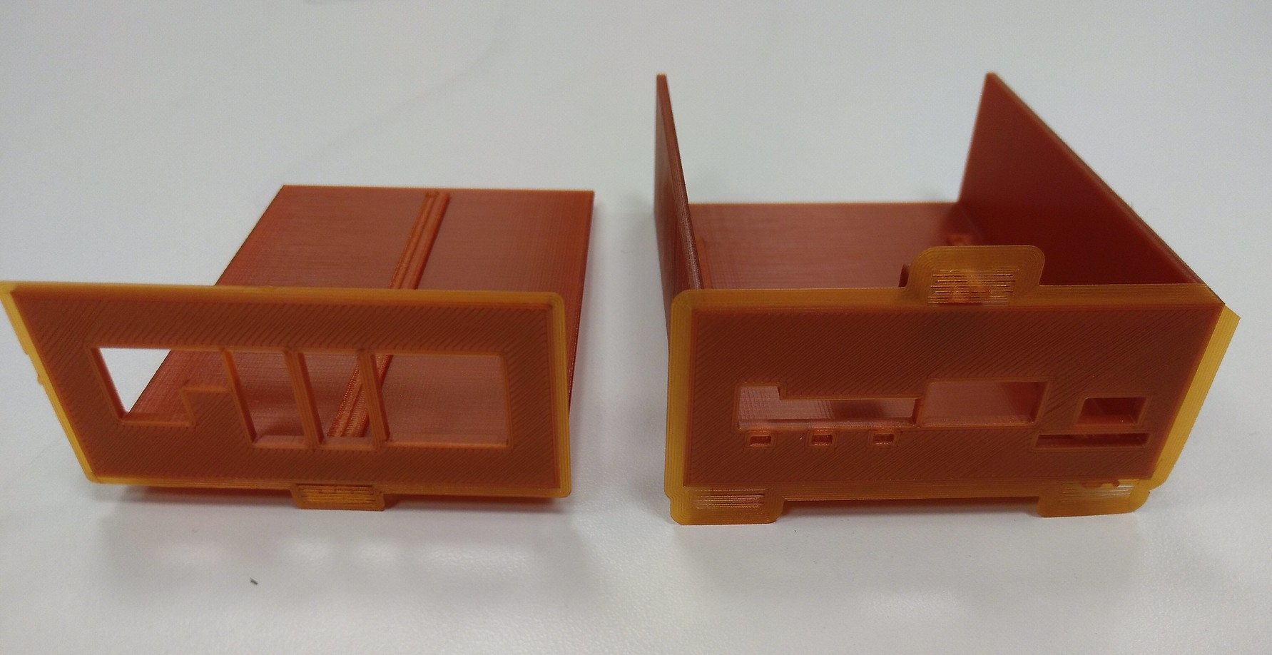 Costumed made 3D printed enclosure for Olimex Lime2